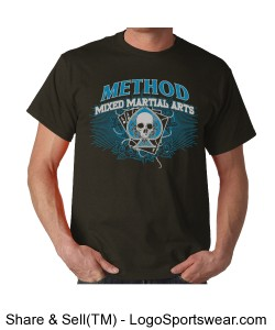 Method Skull and Aces on Dark Shirts Design Zoom